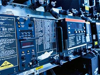 ボーイング767のコンピューター