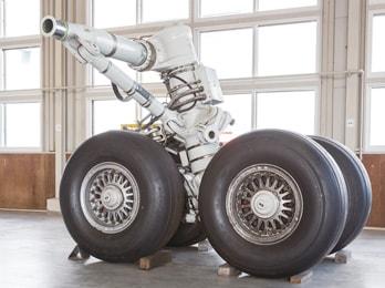 ボーイング747の着陸装置
