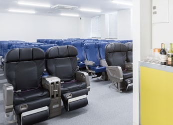 機内サービス実習室