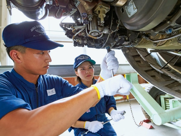 オープンキャンパス2019 航空整備士体験コース 写真