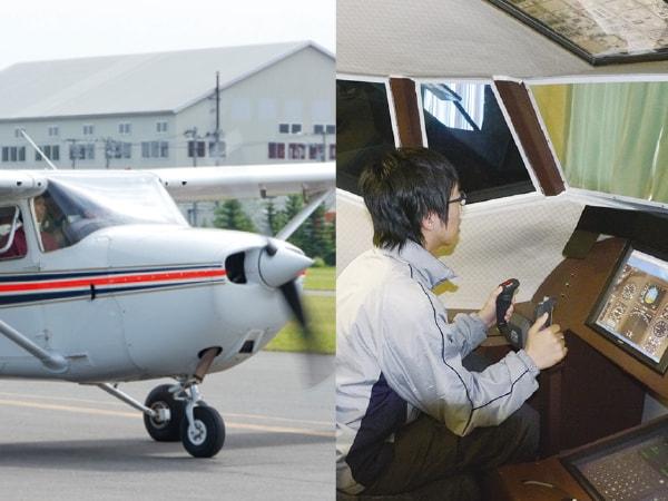 オープンキャンパス2018 航空整備士体験コース 写真
