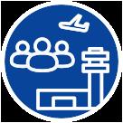 本校OB・OGが全国各地の空港で活躍