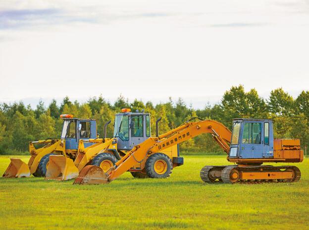 5:建設系車両実習場