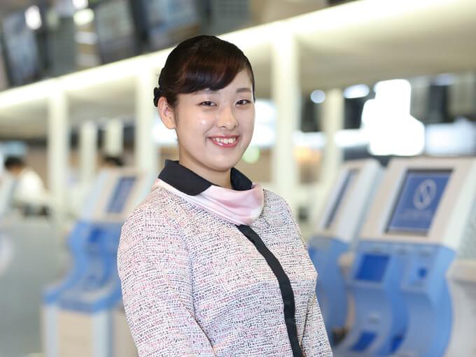 日本航空専門学校に入学して、充実した学校生活をおくれた事に満足