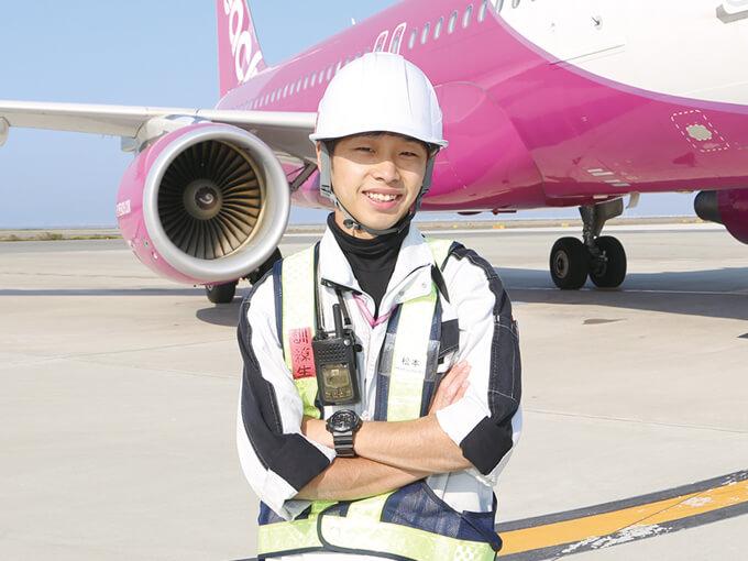 日本航空専門学校で学んだ知識が現場で活きる